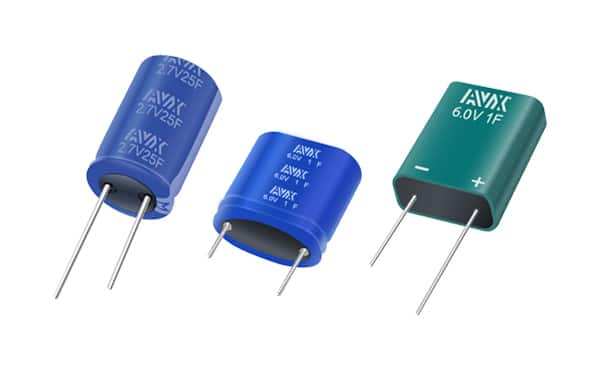 Image of AVX's SCC and SCM Series Supercapacitors Spotlight
